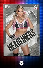 DIGITAL Topps Slam Alexa Bliss Color Headliners Variant