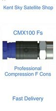 More details for compression f connectors ct100 wf100 rg6 cables cmx100 pro single cable fs