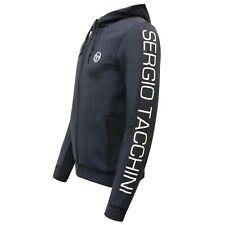 Sergio Tacchini Lamar Hoodie Zip Up Mens Sweatshirt Jumper Navy 37412 002 X19A