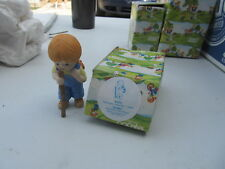 Enesco Country Cousins Katie hiking in box