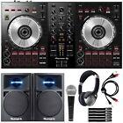 Pioneer DDJ-SB3 Serato DJ Controller Starter Package w/ Speakers + Headphones