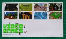 More details for 2020 video games set of 8 on fdc sheffield np fdi pmk
