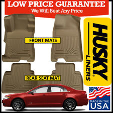Husky Liners Weatherbeater 2007-2009 Fusion / MKZ FWD Front/Rear Floor Mats TAN