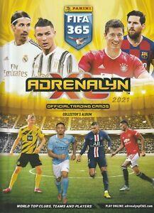 CARTE PANINI FOOT - ADRENALYN XL - FIFA 365 - 2021 - 1 a 200 - a choisir
