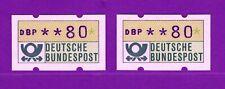 Die beiden seltensten Automatenmarken überhaupt postfrisch akt 1.000.-€ RE Bund