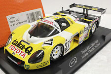 SLOT IT SICA19B TOYOTA 88C TAKA Q LE MANS 1988 NEW 1/32 SLOT CAR IN DISPLAY CASE