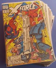 X-Force Lot 35 Books F-NM Marvel Comics Uncertified