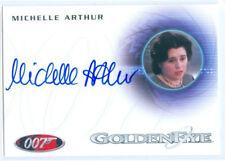 """MICHELLE ARTHUR """"ANNA AUTOGRAPH CARD A159"""" JAMES BOND AUTOGRAPHS & RELICS"""