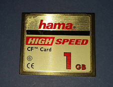 CF Compact Flash Speicherkarte HAMA Highspeed Class 6 1 GB  E2729
