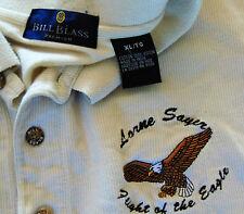 "Bill Blass Premium XL Lorne Sayer ""Flight of the Eagle"" polo shirt"
