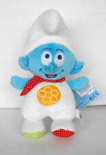 RARE SMURF SCHTROUMPF for baby PLUSH figure 10 inch MINT FRANCE 2011