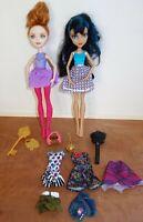 "Mixed Lot of Mattel Monster High & Ever After High 11"" Dolls + Accessories !"
