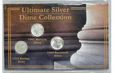 First Commemorative Mint Ultimate Silver Dime Collection