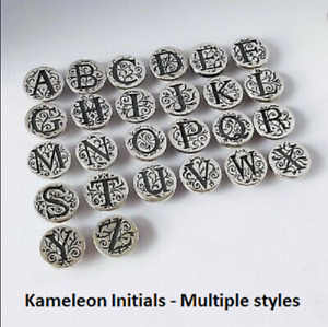 -NEW- AUTHENTIC Kameleon Sterling Silver Alphabet pops