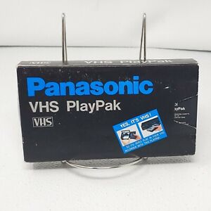 Panasonic VHS PlayPak VHS-C to VHS Motorized Converter Adapter VYMW0009 Tested