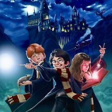 "Harry Potter Movie Cushion Pillow Case Cover Animation Fan Pop Art 17""x17"""