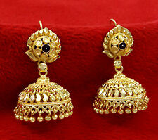 Designer 18k Goldplated Indian Traditional Bollywood Jhumka Earring Jewelry 8442