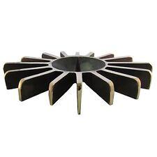 Bronce candelabros candiles estrella 23 cm * 16 cm bronce Candle Holder