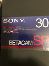 Sony Betacam SP BCT-30MA 30 Min Beta Tapes  BRAND NEW