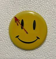 "Watchmen Smiley 50mm 2"" Pin Badge Button / Chapa con imperdible"
