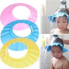 Adjustable Baby Child Kids Shampoo Bath Shower Cap Hat Wash Hair Shield Caps UK