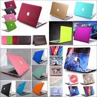 """Rubberized Hard Case Matte Cover For MacBook AIR 11""""/ PRO 13"""" 15"""" Retina Touch"""