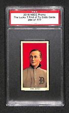 """2016 NSCC """"LUCKY 7 FIND"""" 1909-11 T206 TY COBB Promo Rookie Card (RC) 624/777 PSA"""