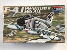 Monogram F-4J Phantom II Mig Ace 1:48 Scale Model Kit New Sealed *FREE SHIPPING*