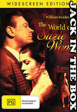 The World Of Suzie Wong  DVD NEW, FREE POSTAGE WITHIN AUSTRALIA REGION ALL
