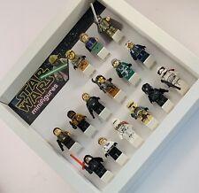 Minifigure Display Case Frame Lego Star Wars AFOL minifigs figures Yoda