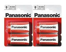 2 x 2 Pcs Pack Panasonic R20R-2BP D Size Battery (4 Batteries) - Brand New