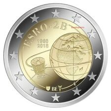 #RM# 2 EURO COMMEMORATIVE BELGIQUE 2018 - IRIS SATELLITE