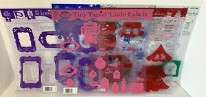Hot Off the Press TEMPLATES Gift Cards Tags Label Christmas 12x12 Lot of 5