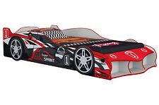 Super Sprint Red F1 Racing Boy Car Bed - Kids & Children