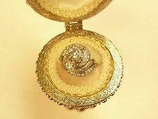 Vintage14k White Gold Diamond Wedding Set 1.90TCW L@@K