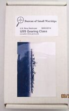 Bureau of Small Warships - USS GEARING CLASS / Resin Kit BSW-DD14 - NEW NOS