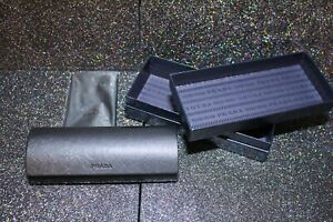 Prada Glasses/Sunglasses Case and Presentation Box and Cleaning Cloth .Brand new