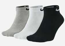 Nike 3-Pack Performance Cotton Cushioned Low-Cut Socks Men's Size 8-12 USA