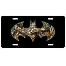 Batman Camo Car Tag, Gift for Him, Hunting Hunter License Plate, Car Tag Vanity