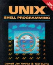 Unix Shell Programming by Burns, Ted Paperback Book The Fast Free Shipping