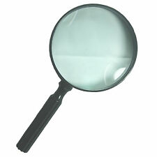 HAWK MG8605 - 2X Magnifying Glass Hand Held 4-5/8 in For Reading Document