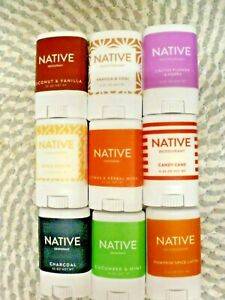 NATIVE~U PICK~~15 DIFFERENT SCENTS TO PICK FROM ~TRAVEL SIZED 0.35 OZ EACH