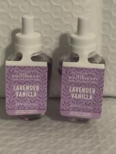 Bath And Body Works 2 Pack Of Lavender Vanilla Wallflower Fragrance Refills