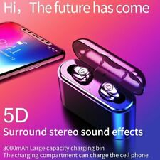Bluetooth 5.0 Earbuds Wireless Earphones Tws Stereo Deep Bass Headphones Usa