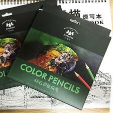Professional Colour Pencils Set of 48 Colours for Children Students Art Drawing