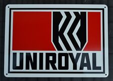 UNIROYAL Tires Service Station Garage Mechanic Tire Shop Sign Advertising logo