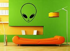Wall Stickers Vinyl Decal Extraterrestrial UFO Alien For Kids Nursery ig1387