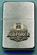 AIR FORCE WIND PROOF PREMIUM LIGHTER IN A GIFT BOX UNITED STATES USAF SBC059