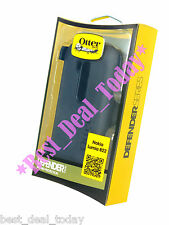 OEM OTTERBOX DEFENDER RUGGED HARD CASE W/ CLIP FOR NOKIA LUMIA 822 VERIZON BLACK