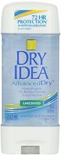 Dry Idea Advanced Dry Unscented Antiperspirant & Deodorant Gel 3 Oz